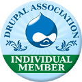 Drupal Association Individual Membership Badge